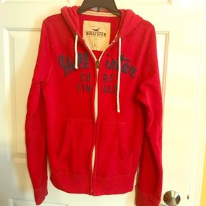 Hollister jacket with hoodie